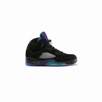 check out edab9 e5cfd 136027-007 Air Jordan 5 Retro Grapes Black New Emerald-Grape Ice-Black