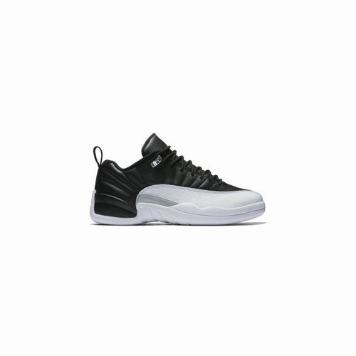 52d8a24fbadf5b 308317-004 Air Jordan 12 Retro Low Black White-Varsity Red (Playoffs ...